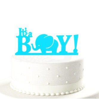 Baby Shower Torten Topper