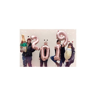 1x Folien Luftballon mit Zahl 8 Geburtstag Jubiläum Party Deko Ballon