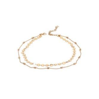 9 Halsbänder Halsketten Damen Mädchen Kette Choker Set Blumen Herz Spitze