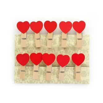 10 mini w scheklammern holz miniklammern kleine deko klammern zahlen 1 10. Black Bedroom Furniture Sets. Home Design Ideas