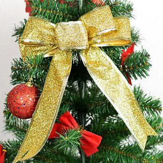 Geschenk Band edler Glitzereffekt Geburtstag Weihnachten - gold
