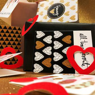 Herz Konfetti Tischdeko Streudeko Valentinstag Hochzeitsdeko - rot