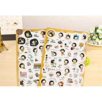 Cooky's Helloday Sticker Aufkleber DIY Tagebuch Scrapbooking Deko